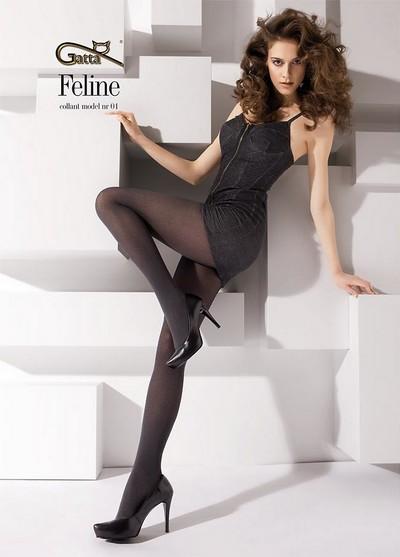 strumpfhosen mit dezentem muster in karo optik feline 01 40 den. Black Bedroom Furniture Sets. Home Design Ideas