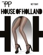 Weiche Netzstrumpfhose Net Tight von House of Holland for Pretty Polly, schwarz