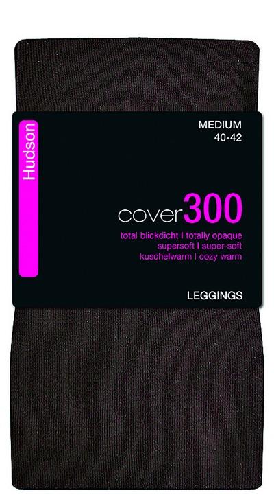 Warme blickdichte Leggings Cover 300 von Hudson, schwarz, Gr. XS