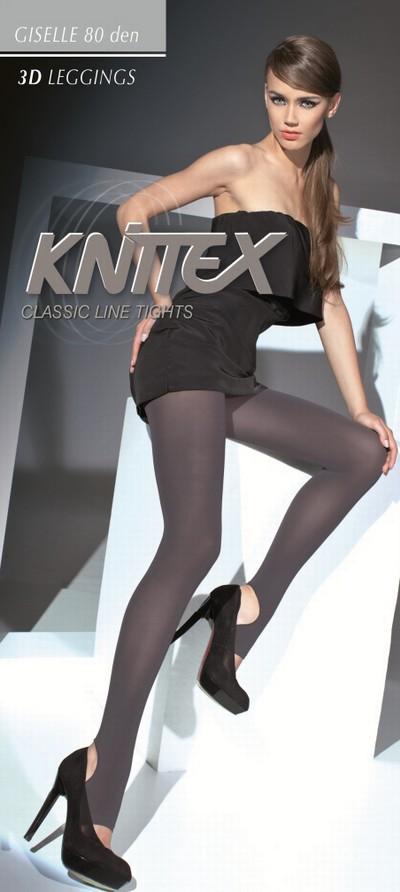 glatte blickdichte leggings mit steg giselle von knittex. Black Bedroom Furniture Sets. Home Design Ideas