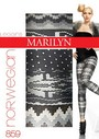 Winter-Leggings mit angesagtem Norwegermuster Norwegian, 100 DEN