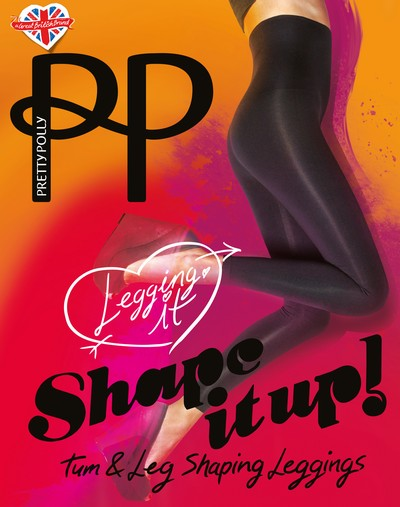 Shape It Up - Blickdichte, figurformende Leggings von Pretty Polly