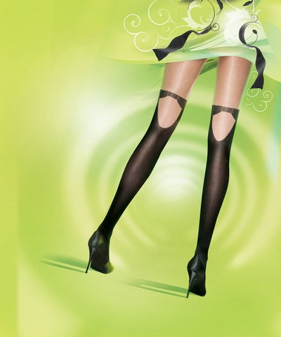 Strumpfhose in verspielter Strumpfoptik PPretty...Formal von Pretty Polly