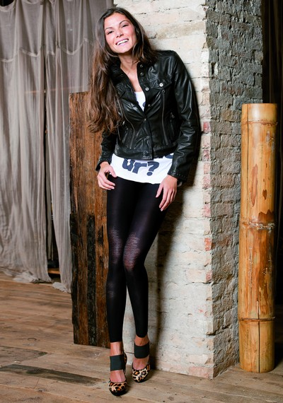 Exclusive Leggings im Used-Look Croatia von Trasparenze